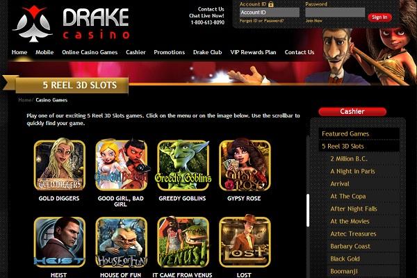 Drake Slots