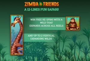 zimba-and-friends-slots-wild-symbols